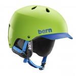 Matte Neon Green Blue Brim Black Liner
