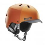 Matte Orange Hatstyle Black Liner